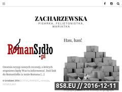 Miniaturka domeny zacharzewska.com