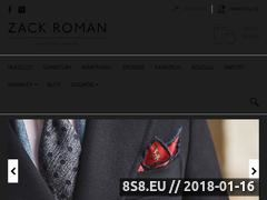 Miniaturka zackroman.com (Moda męska)