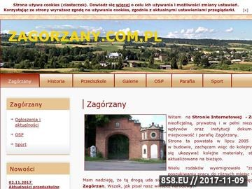 Zrzut strony Zagórzany - Serwis Internetowy Zagórzan