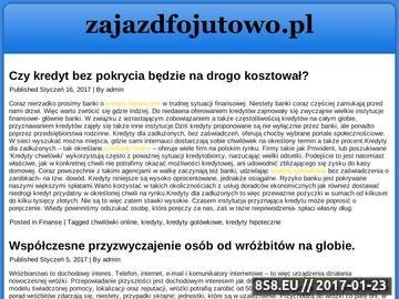 Zrzut strony Zajazd Fojutowo - Bory Tucholskie