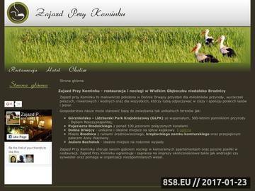 Zrzut strony Zajazd Przy Kominku - Restauracja   Hotel   Noclegi   Wczasy   Agroturystyka