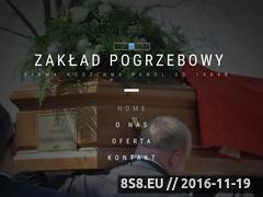 Miniaturka domeny www.zaklad-pogrzebowy-gora.pl