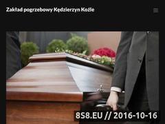 Miniaturka domeny zaklad-pogrzebowy-kedzierzyn-kozle.pl