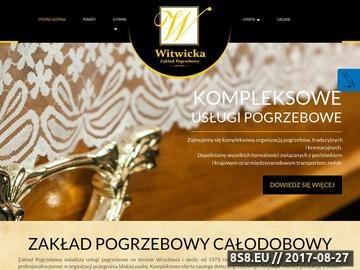 Zrzut strony WITWICKA Organizacja pogrzebów