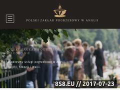 Miniaturka zakladpogrzebowylondyn.uk (Usługi pogrzebowe w Londynie i kremacja zwłok w UK)