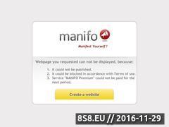 Miniaturka domeny zakladysportowe.manifo.com