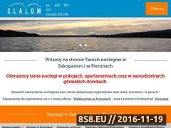 Miniaturka domeny zakopane-slalom.pl
