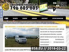 Miniaturka domeny zakopane-taxibus.pl