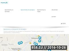 Miniaturka domeny zakopaneapartamenty24.pl