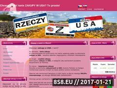 Miniaturka domeny www.zakupy-w-usa.pl