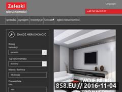 Miniaturka domeny zaleski.pl