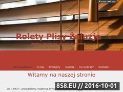 Miniaturka Rolety, żaluzje, plisy i więcej (zaluzje-rolety.com)
