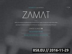 Miniaturka domeny zamat.pl