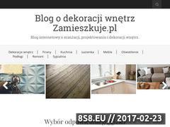 Miniaturka Dekoracja wnętrz (zamieszkuje.pl)