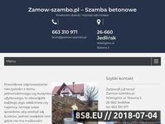 Miniaturka domeny zamow-szambo.pl