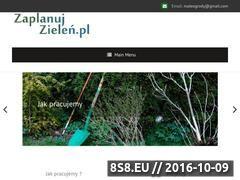 Miniaturka Projekty ogrodów (zaplanujzielen.pl)