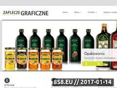 Miniaturka domeny www.zapleczegraficzne.pl