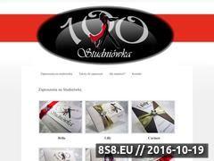 Miniaturka domeny www.zaproszenianastudniowke.pl