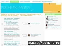 Miniaturka www.zapytajfarmaceute.pl (Forum farmaceutyczne i medyczne - zdrowie, leki i suplementy)