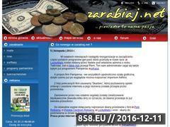 Miniaturka domeny www.zarabiaj.net