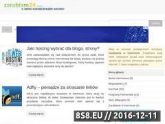 Miniaturka domeny www.zarabiam24.info