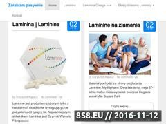 Miniaturka domeny zarabiampasywnie.e-mlm.pl