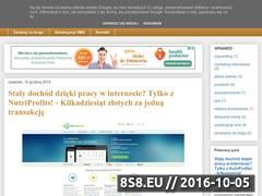 Miniaturka domeny zarabianie-przez-internet24.blogspot.com
