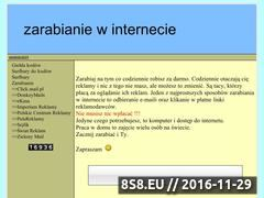Miniaturka domeny www.zarabianie24.zafriko.pl