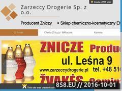 Miniaturka domeny zarzeccydrogerie.pl