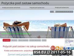 Miniaturka zastawsamochodu.pl (Pożyczki pod zastaw samochodu)