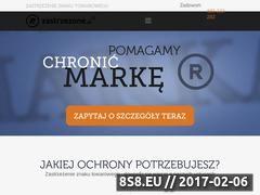 Miniaturka domeny zastrzezone.pl