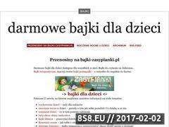 Miniaturka domeny zasypianki.wordpress.com