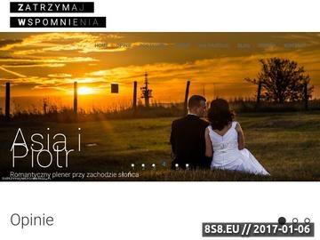 Zrzut strony Fotografia ślubna - Zatrzymaj Wspomnienia