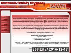 Miniaturka domeny www.zawi.com.pl