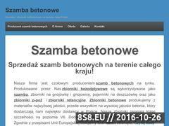 Miniaturka domeny zbiorniki-szamba.pl