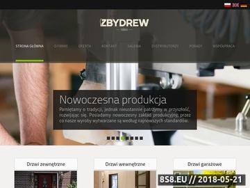 Zrzut strony Zbydrew :: Producent drewnianych drzwi zewnętrznych i wewnętrznych na wymiar