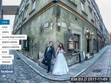 Zrzut strony Fotograf Warszawa: Zdjęcia ślubne i okolicznościowe