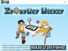 Miniaturka zdobywcywiedzy.pl (Platformy edukacyjne)