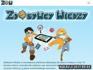 Zrzut strony Platformy edukacyjne