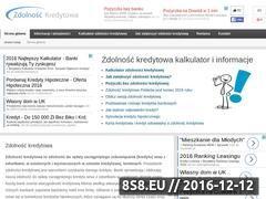 Miniaturka domeny www.zdolnosc-kredytowa.pl