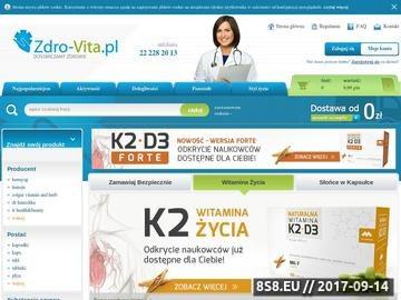 Zrzut strony Apteka internetowa, leki apteka