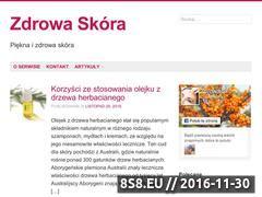 Miniaturka domeny www.zdrowaskora.info.pl