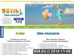 Miniaturka domeny zdrowebuciki.pl