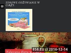 Miniaturka domeny zdroweodzywianiewciazy.pl