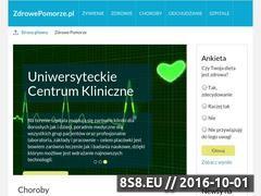 Miniaturka domeny zdrowepomorze.pl
