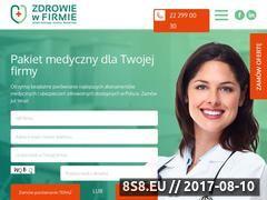 Miniaturka zdrowiewfirmie.pl (Zdrowie w Firmie)