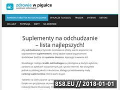 Miniaturka www.zdrowiewpigulce.com (Niezależne recenzje suplementów na zdrowie)