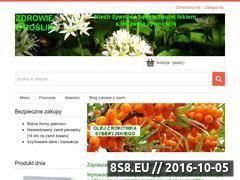 Miniaturka domeny zdrowiezroslin.pl