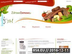 Miniaturka domeny www.zdrowodomowo.pl