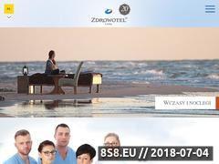 Miniaturka zdrowotel.pl (Hotel Łeba)